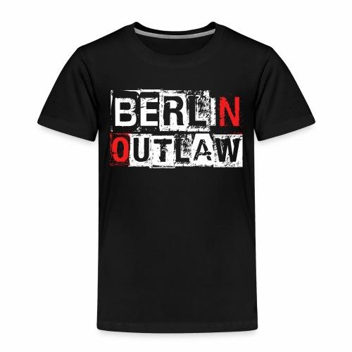 Berlin Outlaw Underground Gangster - Kinder Premium T-Shirt