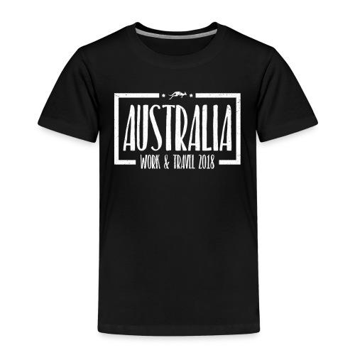 Australia Work & Travel Shirt - Kinder Premium T-Shirt