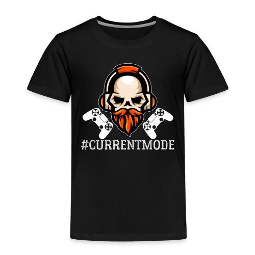 Hashtag Current Mood Gamer - Kinder Premium T-Shirt