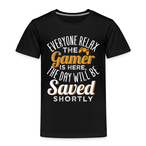 Relax The Gamer Is Here - Kinder Premium T-Shirt