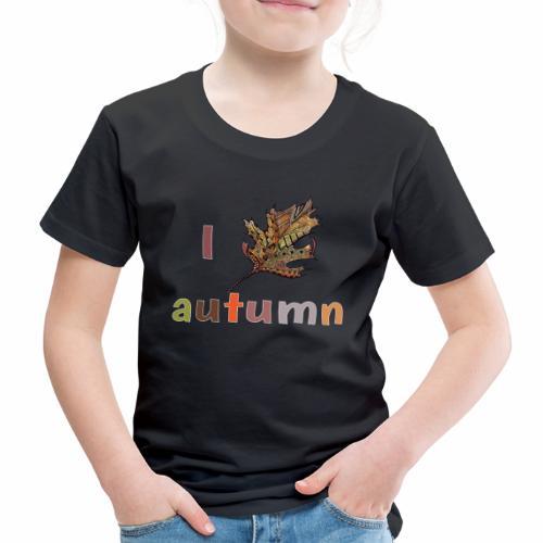 Herbstlaub Design Herbst - Kinder Premium T-Shirt
