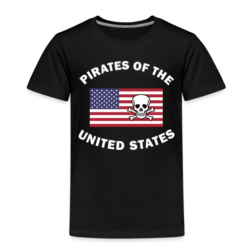Pirates of the United States - Kinder Premium T-Shirt