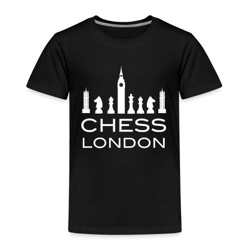 Schach London Weltmeister Schachfigur Geschenk - Kinder Premium T-Shirt