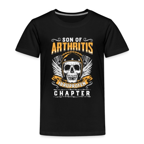 Son Of Athritis - Ibruprofen Chapter - Kinder Premium T-Shirt
