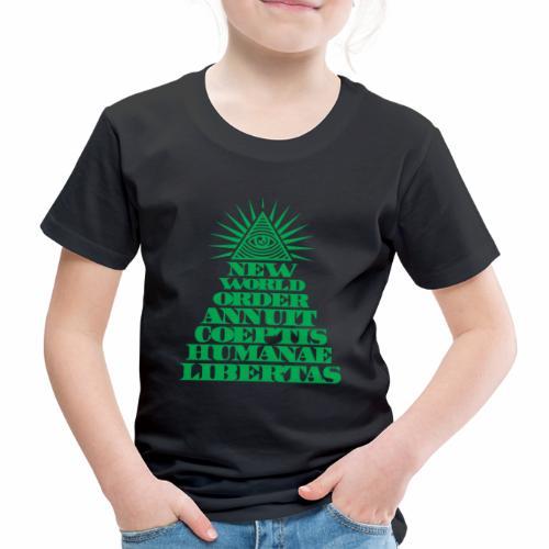 New world order - Kinder Premium T-Shirt