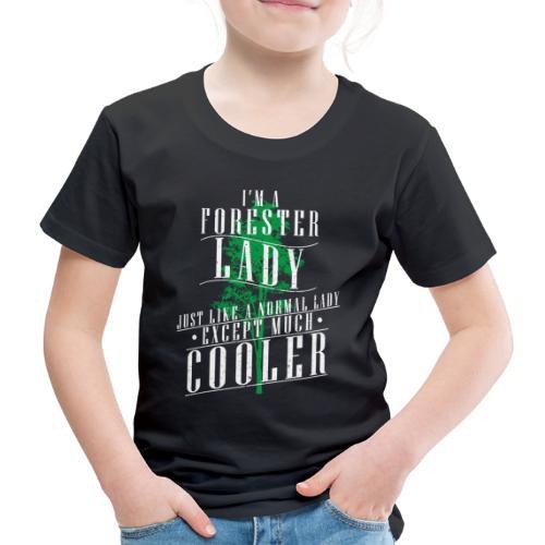 Försterin Baumschule Spruch Geschenk - Kinder Premium T-Shirt