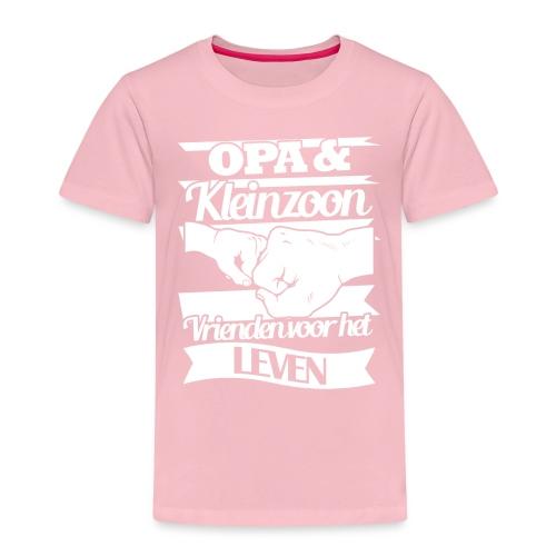 Opa kleinzoon vrienden voor het leven Vaderdagtip - Kinderen Premium T-shirt