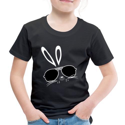 bunny cool sonnenbrille Hasenohren - Kinder Premium T-Shirt