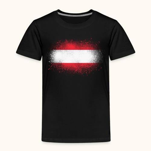 Österreich Grunge österreichische Flagge Geschenk - T-shirt Premium Enfant