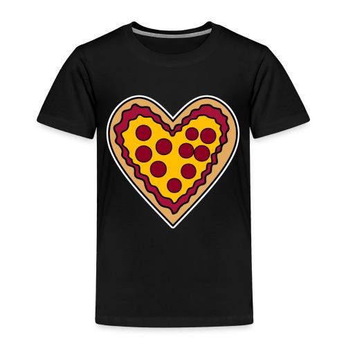 Pizza Herz - Kinder Premium T-Shirt