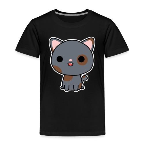 Glückliche Katze - Kinder Premium T-Shirt