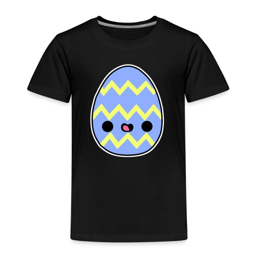 Glückliches Osterei - Kinder Premium T-Shirt