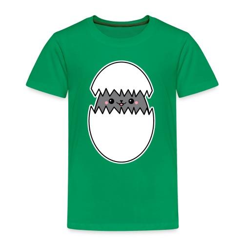 Katze im Ei - Kinder Premium T-Shirt