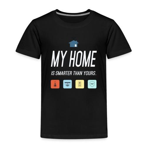 Mein Haus ist Smarter Technik Nerd Geschenk Idee - Kinder Premium T-Shirt