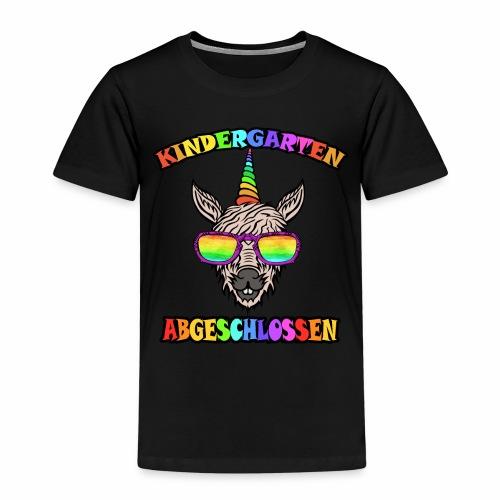 Einhorn Kindergarten Regenbogen Kinder Shirt - Kinder Premium T-Shirt