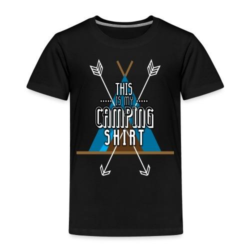 this is my camping shirt - Kinder Premium T-Shirt