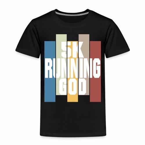 5K running god 5km sind kein Hindernis für dich - Kinder Premium T-Shirt