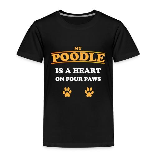 Poodle Hund - Kinder Premium T-Shirt