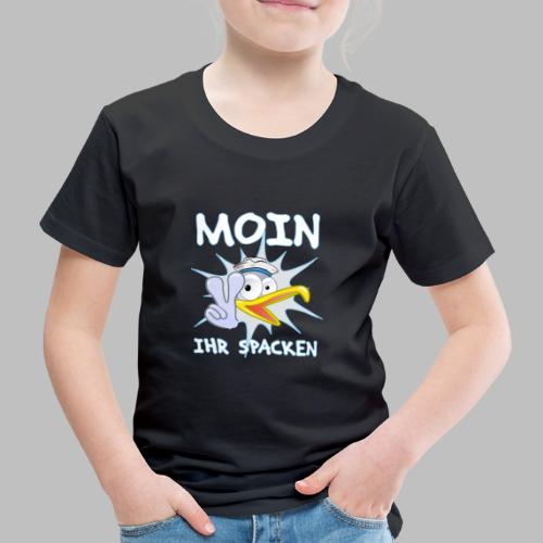 moin ihr spacken möwe geschenkidee - Kinder Premium T-Shirt