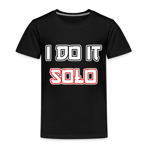 I Do It Solo - Kinder Premium T-Shirt