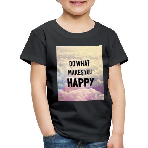 Do what makes your soul happy Tshirt - Børne premium T-shirt