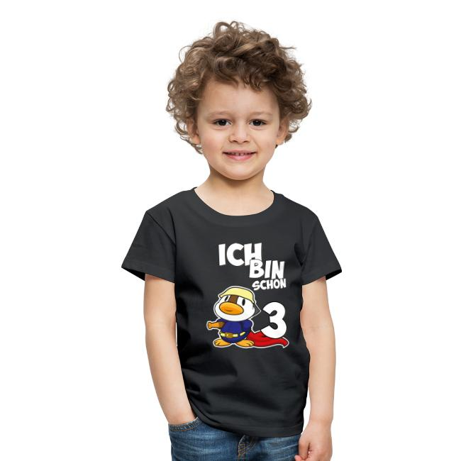 Stolze Feuerwehr Ente 3. Geburtstag Jungen Mädchen