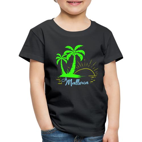 Die goldenen Sonnenuntergänge von Mallorca - Kinder Premium T-Shirt