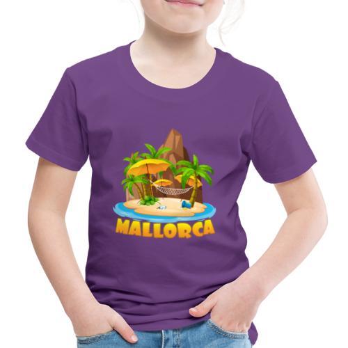 Mallorca - schau wie schön die Insel ist! - Kinder Premium T-Shirt