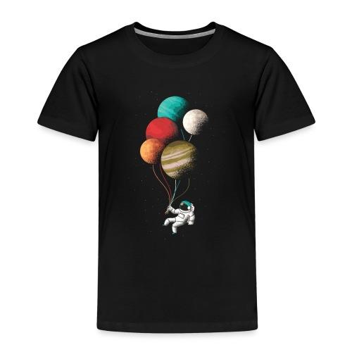 Astronaut balloons - Kinder Premium T-Shirt