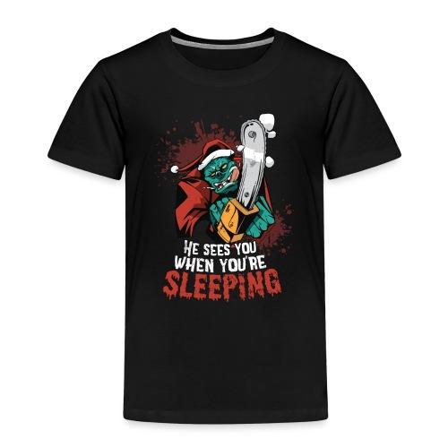 MonsterSanta - Kinder Premium T-Shirt