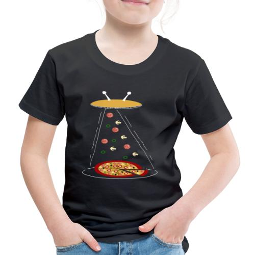 Pizza UFO divertente - Maglietta Premium per bambini