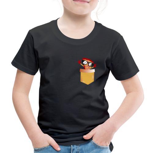 Tasca per amante della pizza - Maglietta Premium per bambini