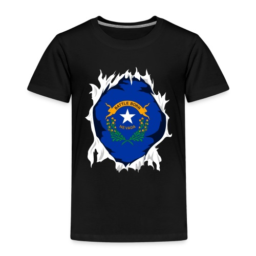 Nevada Jersey | Gift for Nevadan, NV Native Home - Kids' Premium T-Shirt