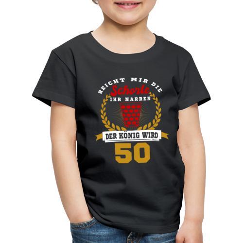 Pfälzer Legende 1969 Der König wird 50. Geburtstag - Kinder Premium T-Shirt