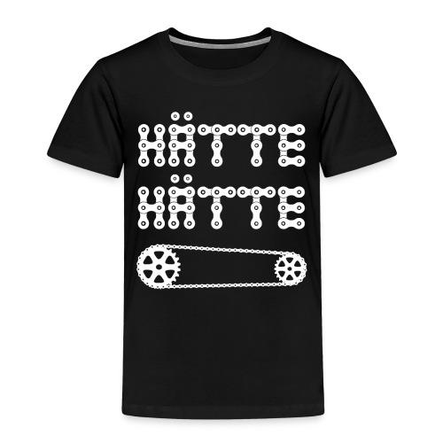 Hätte Hätte Fahrradkette - Kinder Premium T-Shirt