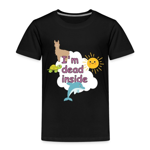 I'm dead inside lustiges T-shirt - Kinder Premium T-Shirt