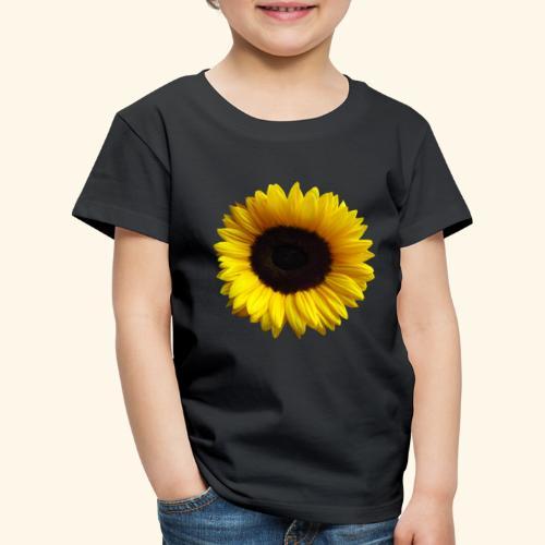 Sonnenblume, Sonnenblumen, Blume, Blüte, floral - Kinder Premium T-Shirt