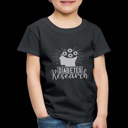 diabetes research - T-shirt Premium Enfant