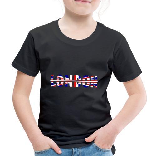 Cooles London Souvenir - Britische Flagge London - Kinder Premium T-Shirt