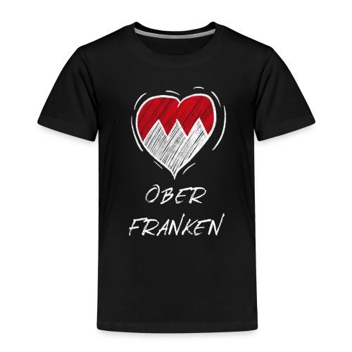 Oberfranken - Frankenwappen Love Wappen Franken - Kinder Premium T-Shirt