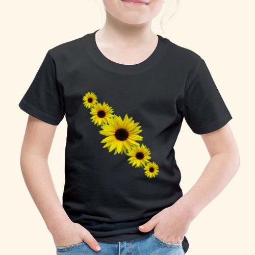 Sonnenblume, Sonnenblumen, Blumen - Kinder Premium T-Shirt
