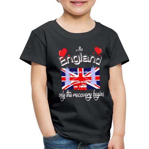 Urlaub England englisch lernen Ferien in England - Kinder Premium T-Shirt