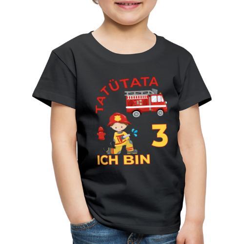 tatütata ich bin 3 - Koszulka dziecięca Premium