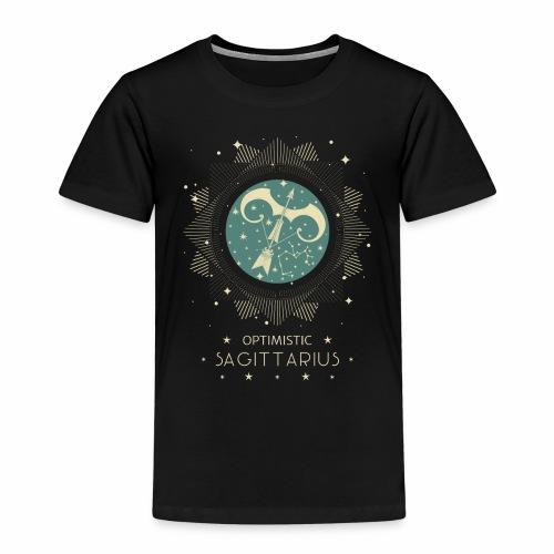 Sternbild Optimistischer Schütze November Dezember - Kinder Premium T-Shirt
