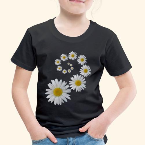 Margeriten Blume, Blumen, Blüte, floral, blumig - Kinder Premium T-Shirt