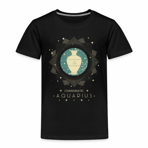 Sternzeichen Wassermann Aquarius Januar Febbruar - Kinder Premium T-Shirt