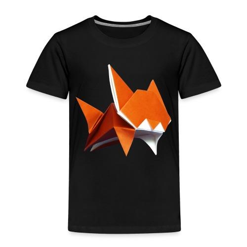 Jumping Cat Origami - Cat - Gato - Katze - Gatto - Kids' Premium T-Shirt
