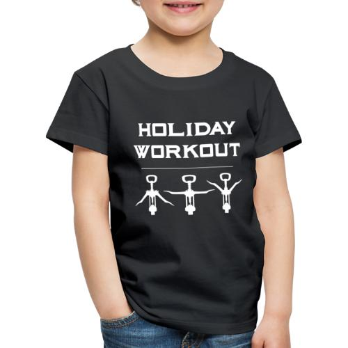 Holiday Workout - Urlaubs Übungen - Kids' Premium T-Shirt