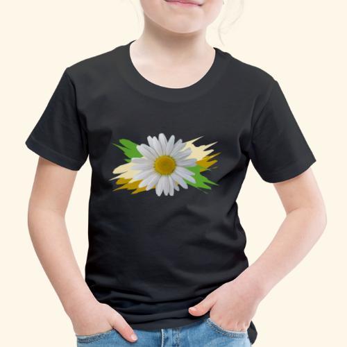 Margeriten Blüte, Blumen, floral, Gänseblümchen - Kinder Premium T-Shirt
