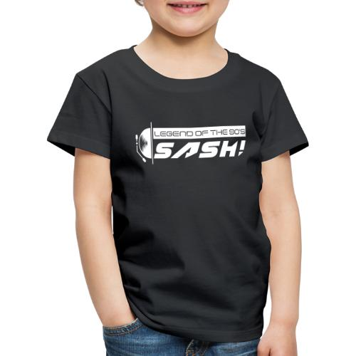 DJ SASH! Turntable Logo - Kids' Premium T-Shirt